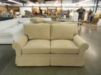 HF-2100 LS - Loveseat Lawson Skirted