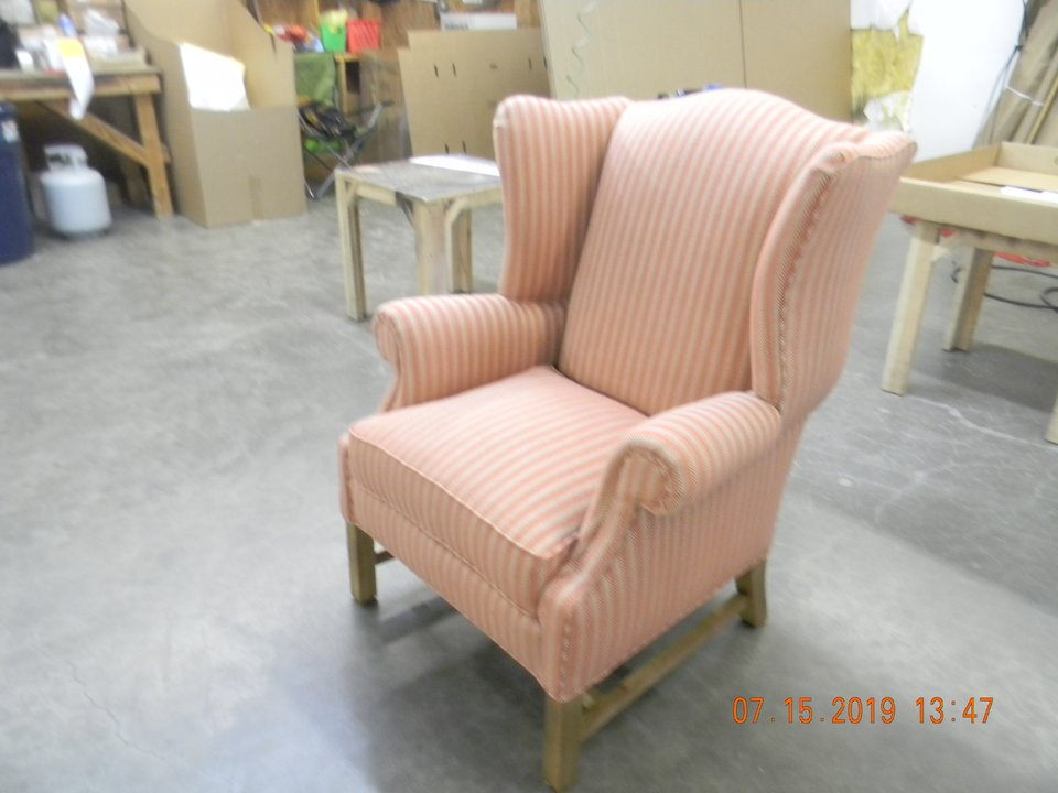HF-250 - 18th C. Wing Back Chair