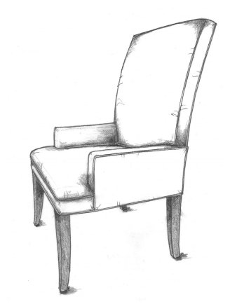 HF-258 - Arm Dining Chair